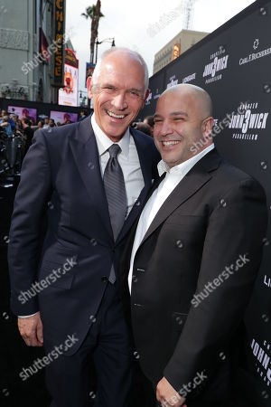 Stock Picture of Joe Drake, Co-Chair, Lionsgate Motion Picture Group, Nathan Kahane, President of Motion Pictures, Lionsgate,