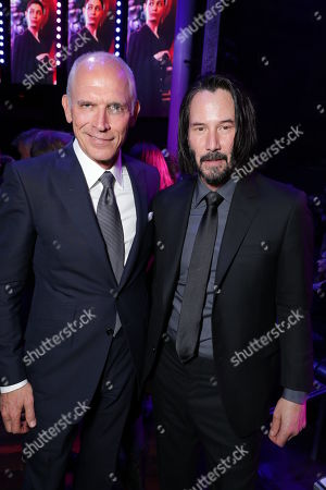 Joe Drake, Co-Chair, Lionsgate Motion Picture Group, Keanu Reeves