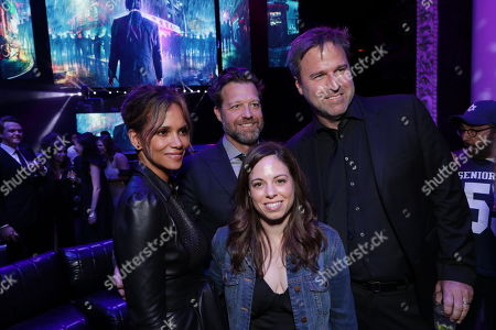 Stock Picture of Halle Berry, David Leitch, Executive Producer, Erica Lee, Producer, Basil Iwanyk, Producer,