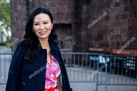 US businesswoman Wendi Murdoch arrives at the Statue Of Liberty Museum Opening Celebration at Battery Park in New York, New York, USA, 15 May 2019.