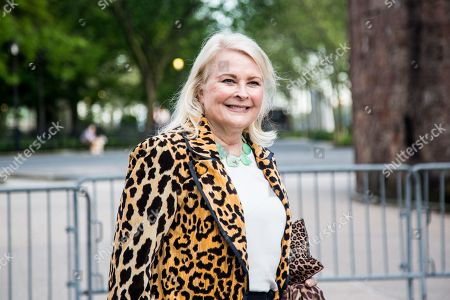 US actress Candice Bergen arrives to the opening celebration of the Statue of Liberty Museum on Liberty Island at the Statue Cruises Terminal in Battery Park in New York, New York, USA, 15 May 2019.