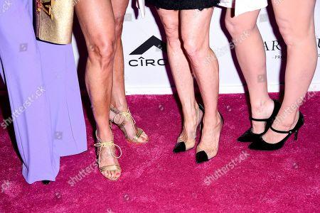 Dorinda Medley, Sonja Morgan, Ramona Singer, Tinsley Mortimer, Shoe detail