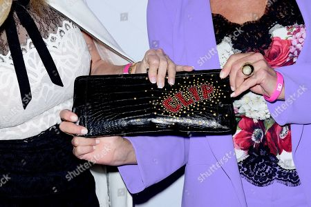 Dorinda Medley, bag detail