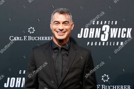 Chad Stahelski arrivies for the premiere of Lionsgate's John Wick: Chapter 3 - Parabellum at the TCL Chinese Theatre IMAX in Hollywood, Los Angeles, California, USA, 15 May 2019. The movie opens in the US on 17 May 2019.