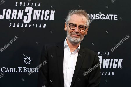 Stock Image of Danish cinematographer Dan Laustsen arrivies for the premiere of Lionsgate's John Wick: Chapter 3 - Parabellum at the TCL Chinese Theatre IMAX in Hollywood, Los Angeles, California, USA, 15 May 2019. The movie opens in the US on 17 May 2019.