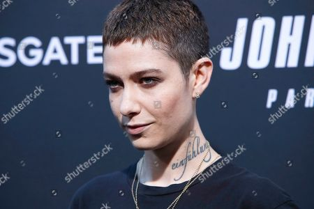 Asia Kate Dillon arrivies for the premiere of Lionsgate's John Wick: Chapter 3 - Parabellum at the TCL Chinese Theatre IMAX in Hollywood, Los Angeles, California, USA, 15 May 2019. The movie opens in the US on 17 May 2019.