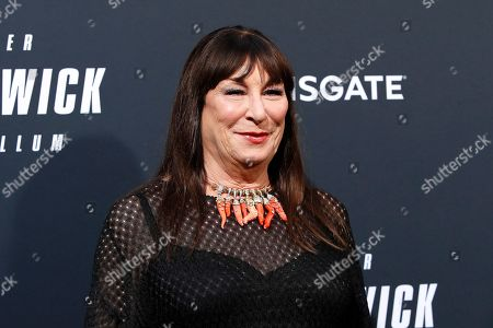 Stock Image of Anjelica Huston arrivies for the premiere of Lionsgate's John Wick: Chapter 3 - Parabellum at the TCL Chinese Theatre IMAX in Hollywood, Los Angeles, California, USA, 15 May 2019. The movie opens in the US on 17 May 2019.