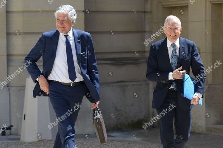 Maurice Levy and Philippe Wahl