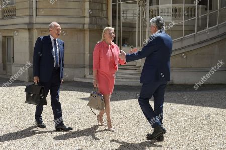 Maurice Levy, Jean Paul Agon and Ginni Rometty