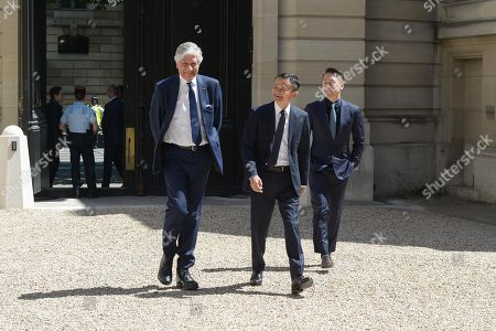 Jack Ma and Maurice Levy