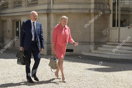 Stock Picture of Jean Paul Agon and Ginni Rometty