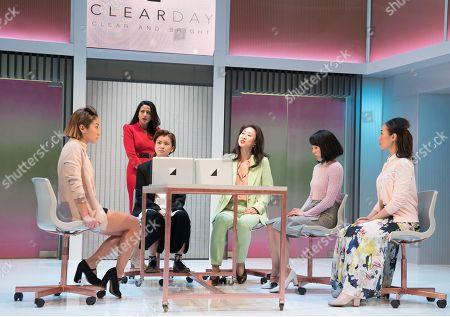 Kae Alexander as Built, Farzana Dua Elahe as Priya, Katie Leung as Sunny, Minhee Yeo as Soo-Jin, Kanako Nakano as Ruki, Momo Yeung as Xiao