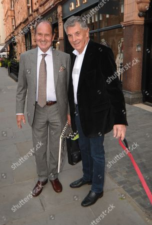 George Graham and David Dein walking in Mayfair