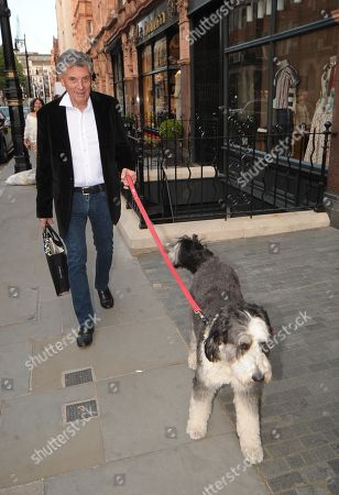 Editorial image of David Dein and George Graham out and about, London, UK - 15 May 2019