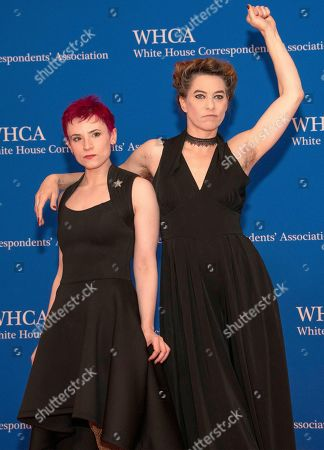 Laurie Penny and Amanda Palmer