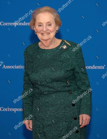 Former United States Secretary of State Madeleine Albright