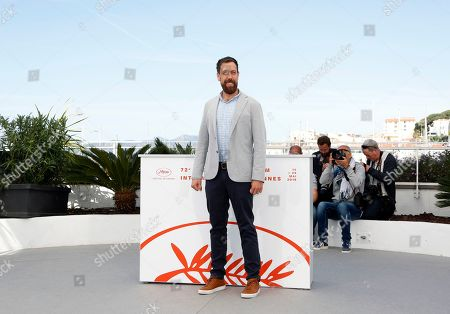 Dan Krauss poses during the photocall for '5BX' at the 72nd annual Cannes Film Festival, in Cannes, France, 16 May 2019. The movie is presented in the section Special Screenings of the festival which runs from 14 to 25 May.