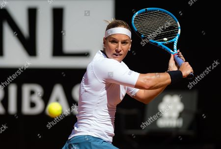 Dominika Cibulkova of Slovakia in action during her second-round match