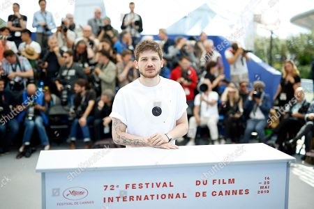 Kantemir Balagov poses during the photocall for 'Beanpole' at the 72nd annual Cannes Film Festival, in Cannes, France, 16 May 2019. The movie is presented in the section Un Certain Regard of the festival which runs from 14 to 25 May.