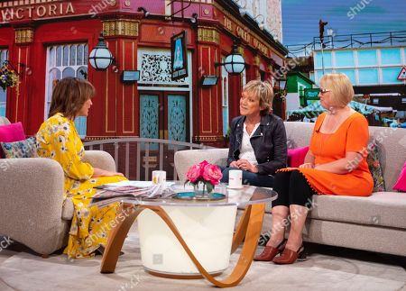 Lorraine Kelly, Gillian Wright and Dany Bell