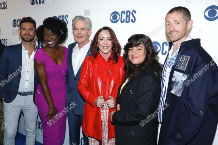 Editorial picture of CBS Upfront Presentation, Arrivals, Todd English Food Hall at The Plaza Hotel, New York, USA - 15 May 2019