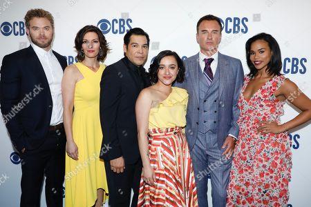 Stock Image of Kellan Lutz, Alana De La Garza, Nathaniel Arcand, Keisha Castle-Hughes, Julian McMahon and Roxy Sternberg