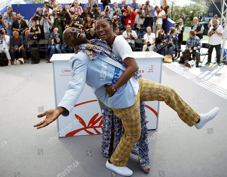 Rob Morgan (L) and US actress Yolonda Ross (R) pose during the photocall for 'Bull' at the 72nd annual Cannes Film Festival, in Cannes, France, 16 May 2019. The movie is presented in the section Un Certain Regard of the festival which runs from 14 to 25 May.