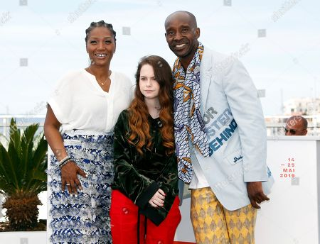 Yolonda Ross, US actress Amber Havard and US actor Rob Morgan pose during the photocall for 'Bull' at the 72nd annual Cannes Film Festival, in Cannes, France, 16 May 2019. The movie is presented in the section Un Certain Regard of the festival which runs from 14 to 25 May.
