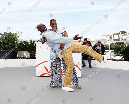 Yolonda Ross (back) and US actor Rob Morgan (front) pose during the photocall for 'Bull' at the 72nd annual Cannes Film Festival, in Cannes, France, 16 May 2019. The movie is presented in the section Un Certain Regard of the festival which runs from 14 to 25 May.