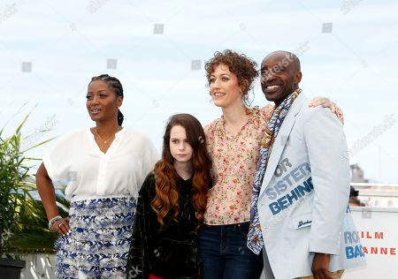 Yolonda Ross, US actress Amber Havard, US director Annie Silverstein and US actor Rob Morgan pose during the photocall for 'Bull' at the 72nd annual Cannes Film Festival, in Cannes, France, 16 May 2019. The movie is presented in the section Un Certain Regard of the festival which runs from 14 to 25 May.