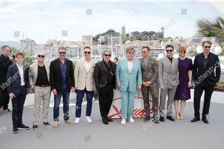 Kit Connor, Bernie Taupin, Adam Bohling, David Furnish, Dexter Fletcher, Sir Elton John, Taron Egerton, Richard Madden, Bryce Dallas Howard and Martin Giles