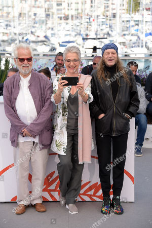 Stock Image of Jan Harlan, Katharina Kubrick, Leon Vitali