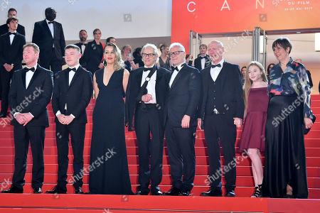 Kris Hitchen, Rhys Stone, Debbie Honeywood, Ken Loach, Paul Laverty, Katie Proctor and Rebecca O'Brien