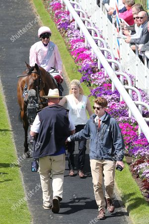 Editorial picture of York Races, Dante Festival, Day Two - 16 May 2019