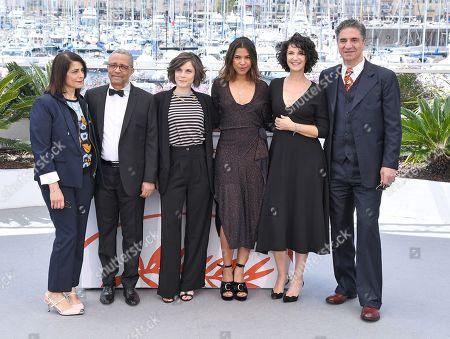 Hiam Abbass, Yasmina Khadra, Elea Gobbe-Mevellec, Zita Hanrot, Zabou Breitman and Simon Abkarian
