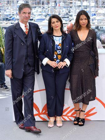 Simon Abkarian, Hiam Abbass and Zita Hanrot
