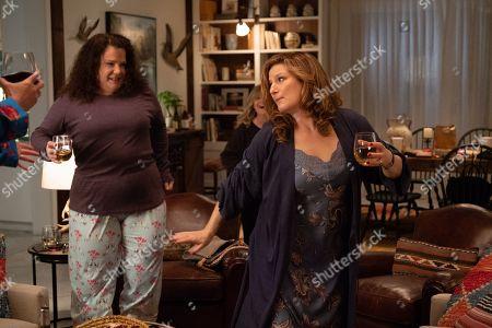 Ana Gasteyer as Catherine and Emily Spivey as Jenny