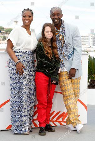 Yolonda Ross, Amber Havard and Rob Morgan