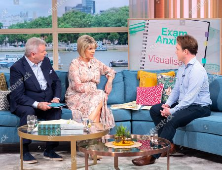 Stock Picture of Eamonn Holmes and Ruth Langsford with Richard Riddell