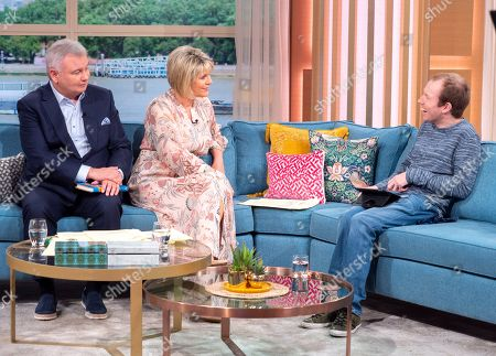 Eamonn Holmes, Ruth Langsford and Lost Voice Guy aka Lost Voice Guy