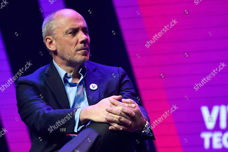 CEO of Orange SA Stephane Richard attends the Vivatech startups and innovation fair, in Paris, France, 16 May 2019. Acording to organizers, VivaTech is the 'world's rendezvous for startups and leaders to celebrate innovation'. It aims to gather the world's brightest minds, talents, and products taking place in Paris on 16 to 18 May 2019.