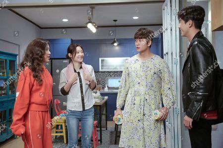 Chae-Yeon Jung, Ji Soo and Jinyoung Jung