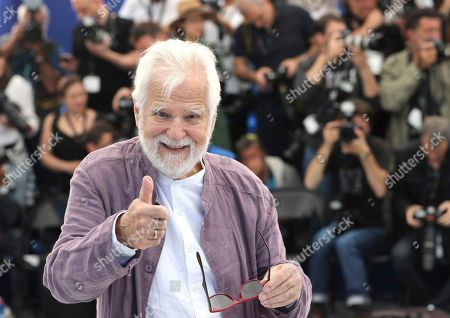 Producer Jan Harlan poses for photographers at the photo call for the film 'The Shining' at the 72nd international film festival, Cannes, southern France