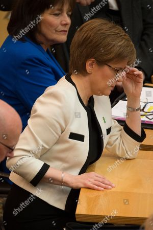 Scottish Parliament First Minister's Questions - Jeane Freeman, Cabinet Secretary for Health and Sport, and Nicola Sturgeon, First Minister of Scotland and Leader of the Scottish National Party (SNP)