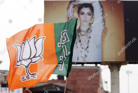 Editorial photo of BJP election campaigning, in Amritsar, India - 16 May 2019