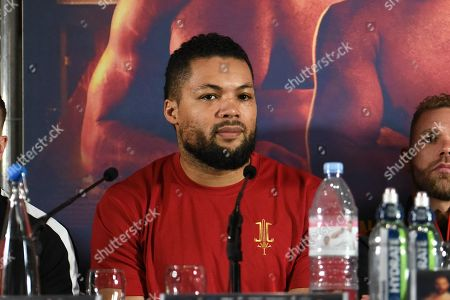 Joe Joyce during a Press Conference at Knebworth House on 16th May 2019