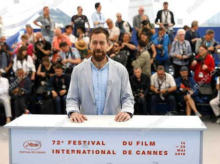 Director Dan Krauss poses for photographers at the photo call for the film '5B' at the 72nd international film festival, Cannes, southern France