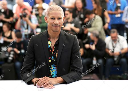 Actor Keiynan Lonsdale poses for photographers at the photo call for the film '5B' at the 72nd international film festival, Cannes, southern France