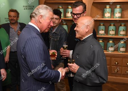 Prince Charles, Prince Charles speaks with Ken Hom