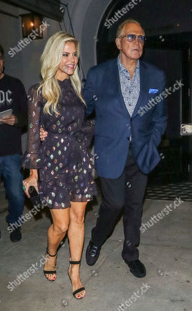 Editorial picture of Lee Majors and Faith Majors out and about, Los Angeles, USA - 15 May 2019